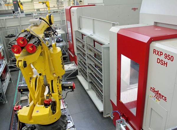 Roeders Machines Automation Robot and Machine RXP950DSH